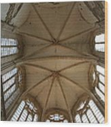 Choir Vault St Thibault Wood Print
