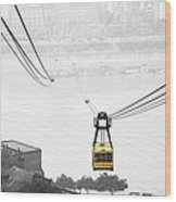 Chongqing Cable Car Wood Print