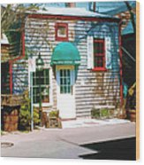 Chowder House Rockport Ma Wood Print