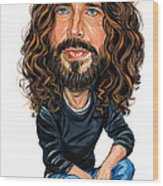 Chris Cornell Wood Print by Art