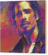 Chris Cornell  Wood Print