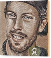 Chris Martin Wood Print