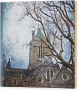 Christ Church Cathedral Dublin Wood Print