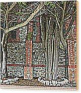 Christ Church Cathedral Port Stanley Falkland Islands Wood Print