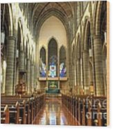 Christ Church Cathedral Victoria British Columbia Wood Print