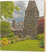 Christ Church Episcopal - Waltham Wood Print
