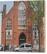 Christ Church Of England In Amsterdam Wood Print