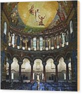 Christ Is Risen II - St Louis Basilica Wood Print