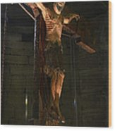 Christ Of Salardu Wood Print