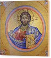 Christ Pantocrator -- No.4 Wood Print