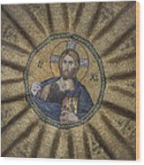 Christ Pantocrator Surrounded By The Prophets Of The Old Testament 1 Wood Print