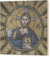 Christ Pantocrator Surrounded By The Prophets Of The Old Testament 2 Wood Print