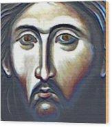 Christ The Judge Wood Print