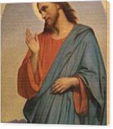 Christ Weeping Over Jerusalem Ary Scheffer Wood Print