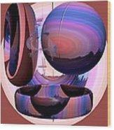 Christalline Energies Wood Print