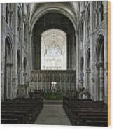Christchurch Priory Wood Print