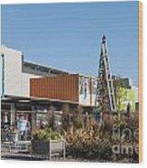 Christchurch Restart Wood Print