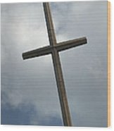 Christian Cross Wood Print