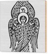Christianity Tetramorph Wood Print