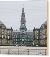 Christiansborg Slot Wood Print