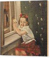 Christine By The Window - 1945 Wood Print