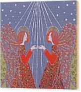 Christmas 77 Wood Print