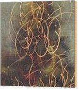 Christmas Abstract Vi Wood Print