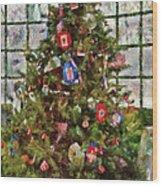 Christmas - An American Christmas Wood Print