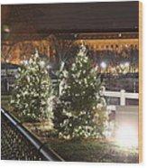 Christmas At The Ellipse - Washington Dc - 01131 Wood Print by DC Photographer