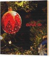 Christmas Best Wood Print
