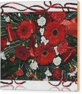 Christmas Bouquet  Wood Print