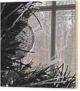 Christmas Bulb Wood Print