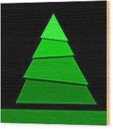 Christmas Card 11 Wood Print