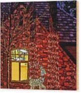Christmas Card -2014 Wood Print