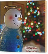 Christmas Card II Wood Print