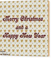 Christmas Cards And Artwork Christmas Wishes 1 Wood Print