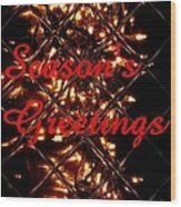 Christmas Cards And Artwork Christmas Wishes 30 Wood Print