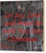 Christmas Cards And Artwork Christmas Wishes 32 Wood Print