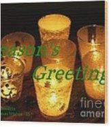 Christmas Cards And Artwork Christmas Wishes 35 Wood Print