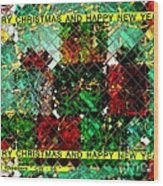Christmas Cards And Artwork Christmas Wishes 66 Wood Print