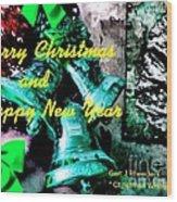 Christmas Cards And Artwork Christmas Wishes 76 Wood Print