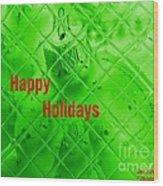 Christmas Cards And Artwork Christmas Wishes 9 Wood Print