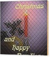 Christmas Cards And Artwork Christmas Wishes 95 Wood Print