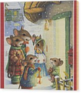Christmas Carols Wood Print