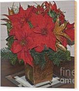 Christmas Centerpiece Wood Print