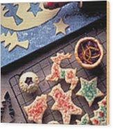 Christmas Cookies Wood Print