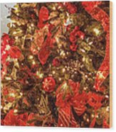 Christmas Dazzle Wood Print