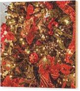 Christmas Dazzle Wood Print
