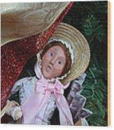 Christmas Display - Mt Vernon - 01133 Wood Print
