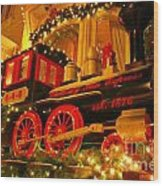 Christmas Express Wood Print